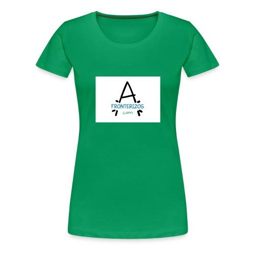 afronterizos almohada - Camiseta premium mujer