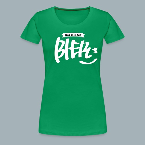 Bier Premium T-shirt - Vrouwen Premium T-shirt