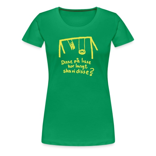 disse p lisse liten - Premium T-skjorte for kvinner