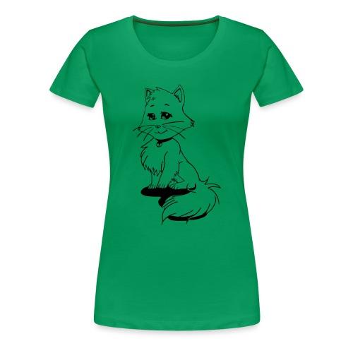 Mangakatze - Frauen Premium T-Shirt