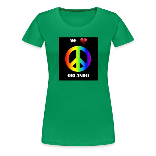 ORLANDO PEACE BLACK - Women's Premium T-Shirt