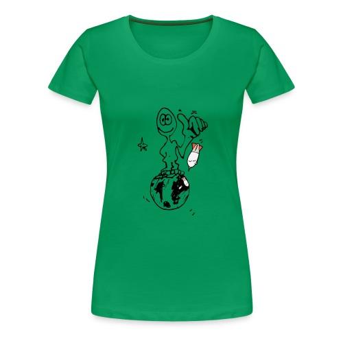 Ma planète - T-shirt Premium Femme