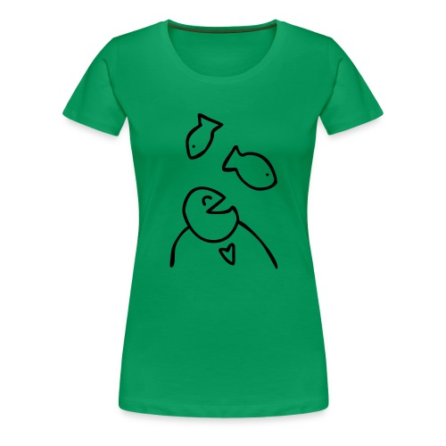 visman3 - Vrouwen Premium T-shirt