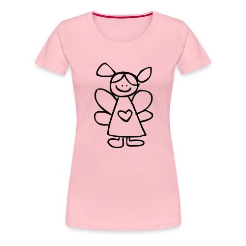 belinda's engeltje - Vrouwen Premium T-shirt