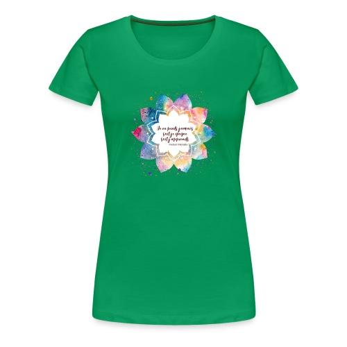 Citation de Nelson Mandela - T-shirt Premium Femme