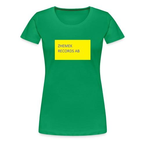 ZHEMEK RECORDS OFFICIAL SHIRT - Premium-T-shirt dam