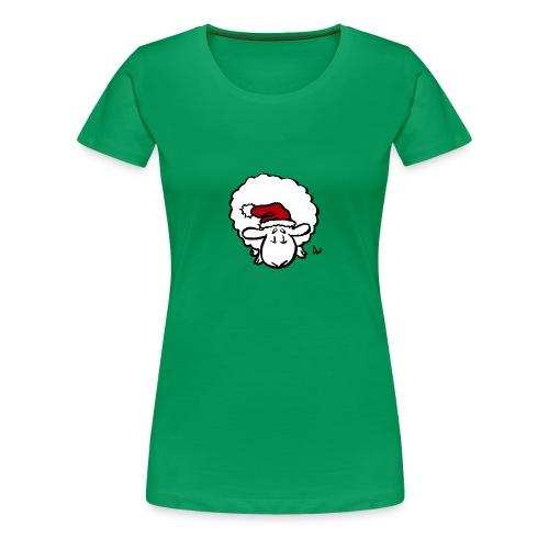 Santa Sheep (red) - Women's Premium T-Shirt