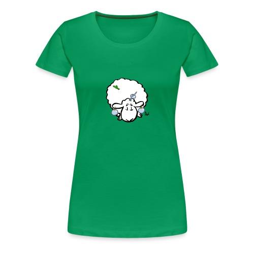 Ovejas del árbol de Navidad - Camiseta premium mujer