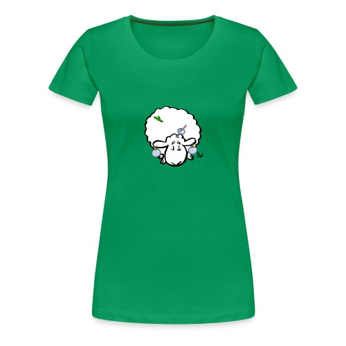 Owca choinkowa - Koszulka damska Premium