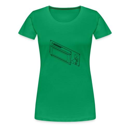 2004LCD (no text). - Women's Premium T-Shirt