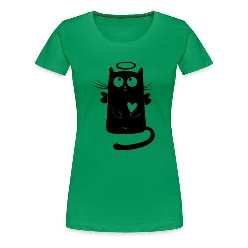 Black Cat Isle - Women's Premium T-Shirt
