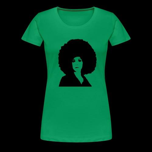 big blackfunky lady - Frauen Premium T-Shirt