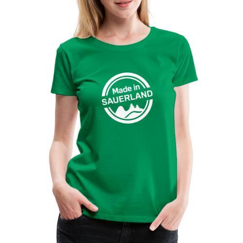 Sauerland Made - Frauen Premium T-Shirt