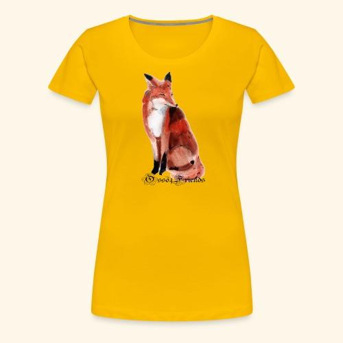 FOX - Maglietta Premium da donna