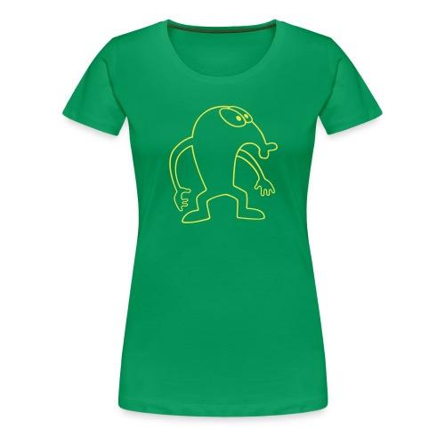 Hempel goes vector - Frauen Premium T-Shirt