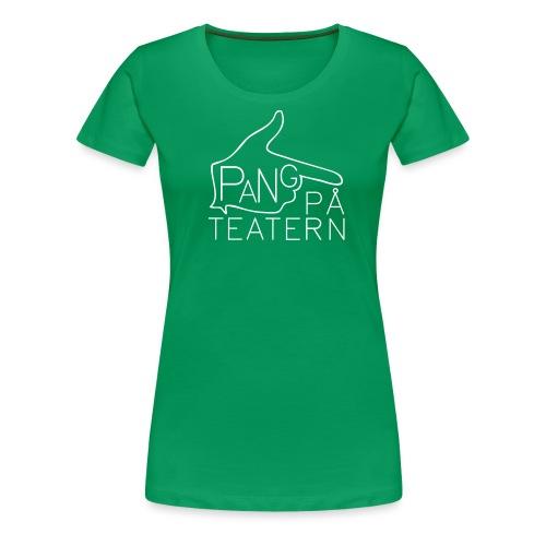 Pang på teatern - Premium-T-shirt dam