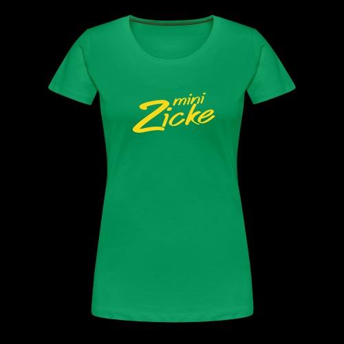 minizicke - Frauen Premium T-Shirt