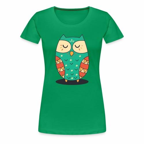 Cute Owl - Frauen Premium T-Shirt