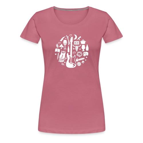 Outdoor metal - Vrouwen Premium T-shirt