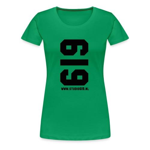 619 American Apparel - Vrouwen Premium T-shirt