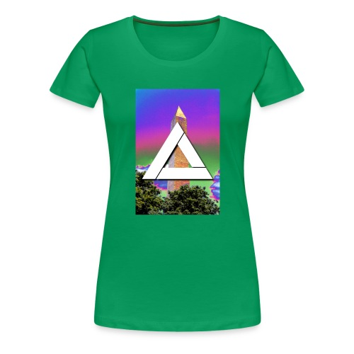SIXTH DIEMENSION MONUMENT - Women's Premium T-Shirt