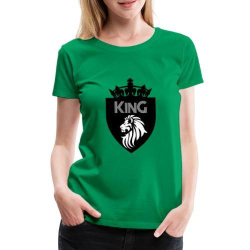 king - T-shirt Premium Femme