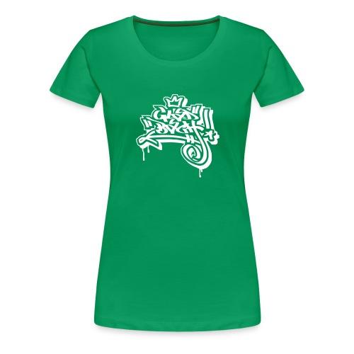 Graffiti Ultras Fan Shirt - Frauen Premium T-Shirt
