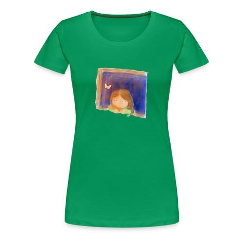 Fensterling solo 3 - Frauen Premium T-Shirt