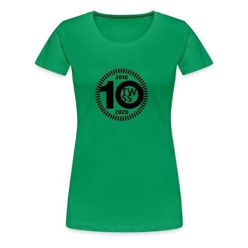 TWSS 10-jähriges Jubiläumslogo - Frauen Premium T-Shirt