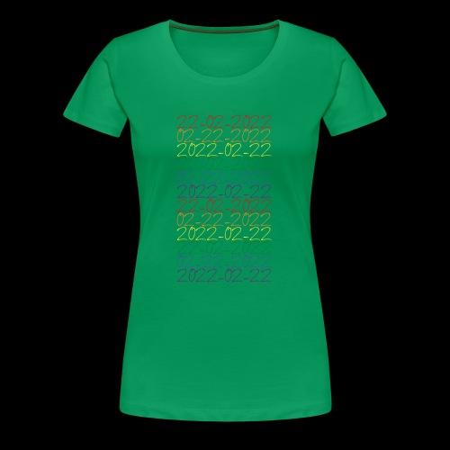 22-02-2022 LGBT Colors - Women's Premium T-Shirt