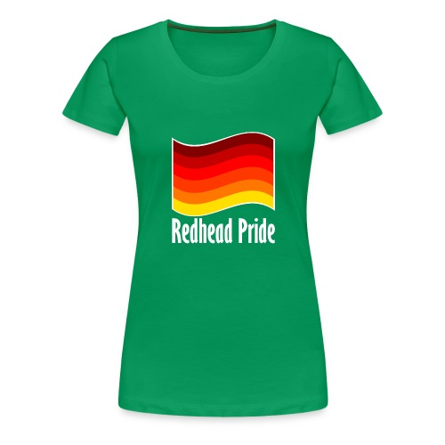 Redhead Pride png - Women's Premium T-Shirt