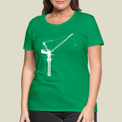 dizruptive kran - Frauen Premium T-Shirt