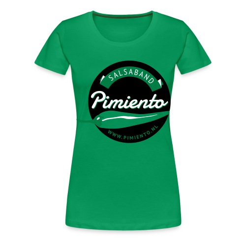 Salsaband Pimiento T-shirt Rood - Vrouwen Premium T-shirt