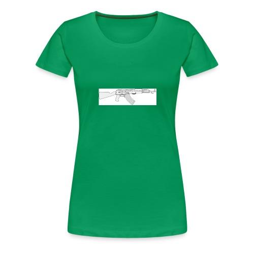 Tin3ashin Shirt Kalashnikov - Vrouwen Premium T-shirt