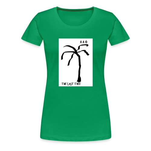Draw-palm-black- - Premium-T-shirt dam