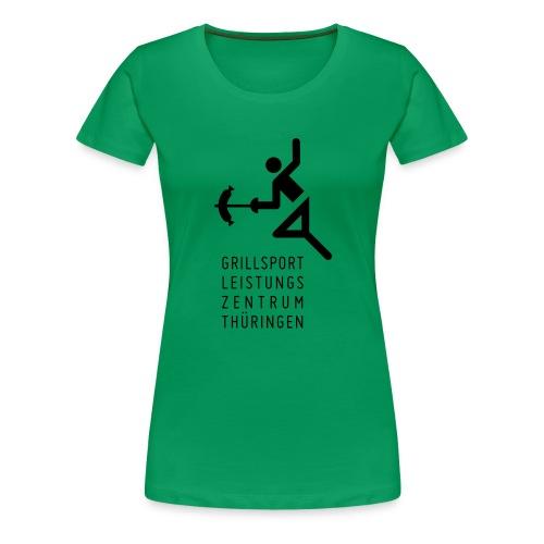 Grillsport Leistungszentrum - Frauen Premium T-Shirt