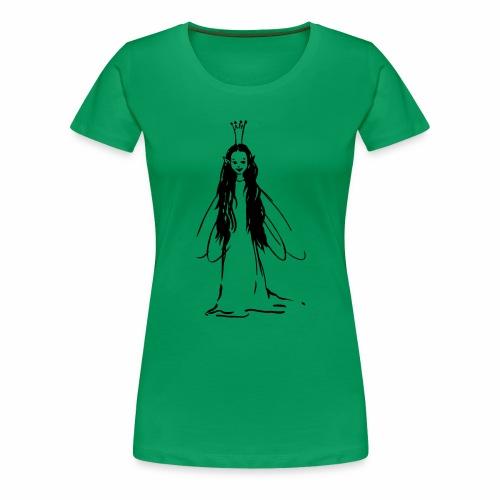 Reine des fées - T-shirt Premium Femme
