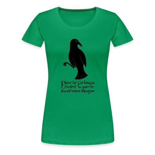 XK Corbeau Byzantin - T-shirt Premium Femme