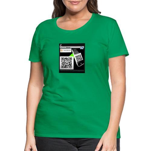 Bitcoin - Koszulka damska Premium