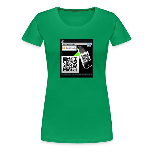 Bitcoin - Dame premium T-shirt