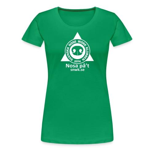 SNWKenfargtext - Premium-T-shirt dam