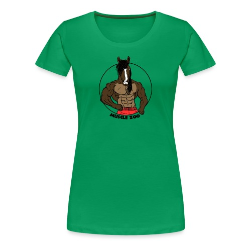 The Stallion - Women's Premium T-Shirt