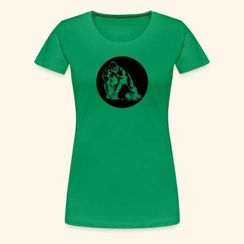 Gorila del parque - Camiseta premium mujer