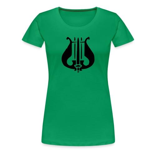 Soittaja - Naisten premium t-paita