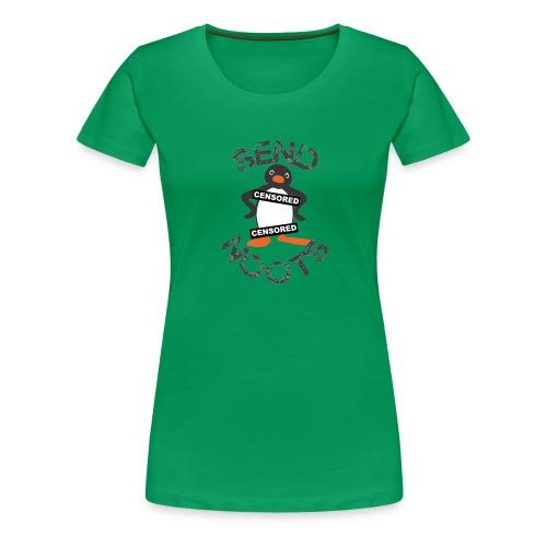 Noot Noot Pingu - Women's Premium T-Shirt