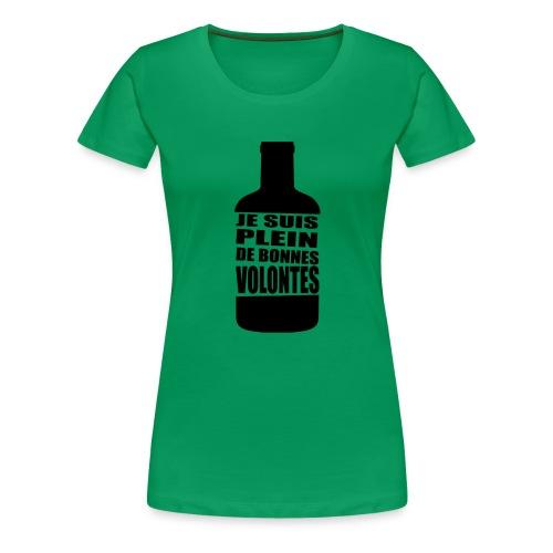 Bonnes volontés - T-shirt Premium Femme