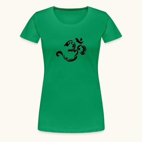 Design Tribal Om hindouisme symbole spirituel - T-shirt Premium Femme