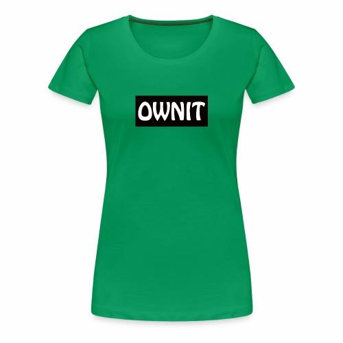 OWNIT logo - Women's Premium T-Shirt