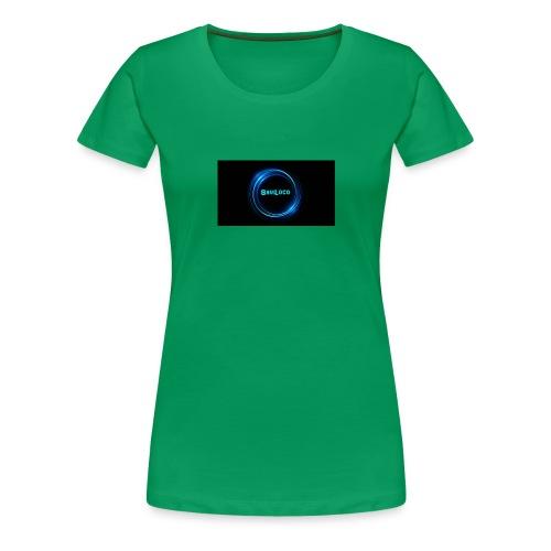 SamLocoClothing - Premium T-skjorte for kvinner