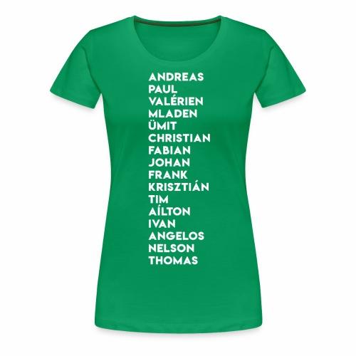 2003/04 Doublesieger Team - Frauen Premium T-Shirt